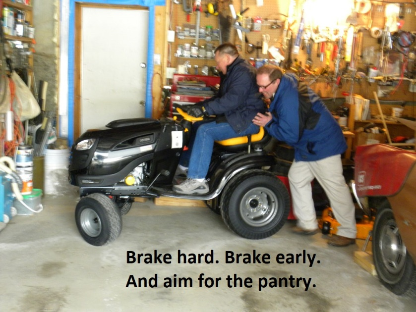 brake hard brake early
